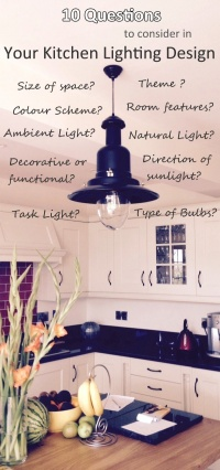 10 questions to consider with your kitchen lighting design