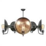 cullan 5 light chandelier with adjustable arms