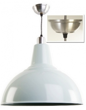 Large Contemporary Retro Kitchen Light - Choice of Colour