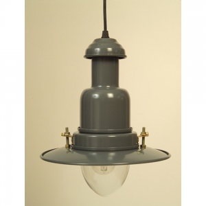 Slate Grey Fisherman's Pendant Light | 3 Sizes