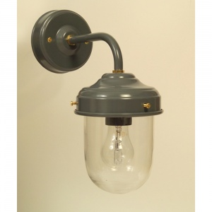 Dark Grey Stable Barn Outdoor Wall Light