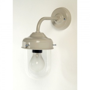 Barn or Stable Wall Mounted Light in Light Grey
