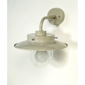 Burford Outdoor Wall Light in Light Grey