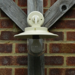 Cream Burford Belfast Outdoor Lamp