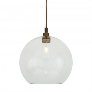 Leith Bathroom Pendant Light 35 cm IP65