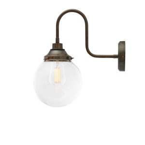 Laguna Swan Neck Bathroom Wall Light 20 cm IP44