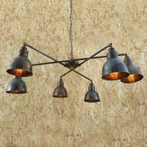 Bridgetown Contemporary 6 Arm Chandelier