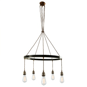 Lome Single Tier 5 Light Chandelier