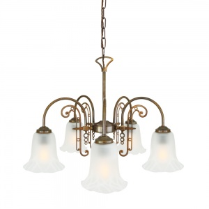 Medan Five-Arm chandelier