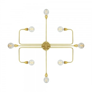 Irbid Modernist 8 Light Chandelier