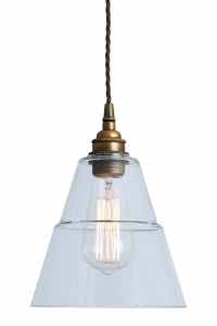 Lyx Clear Glass Pendant Light