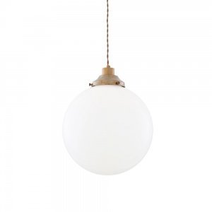 Gentry Opal Globe Pendant Light 30 cm