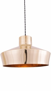 Elegance Brass Pendant Light