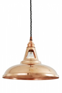 Minsk Copper Pendant Light