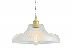 Mono Industrial 30cm Railway Pendant Light