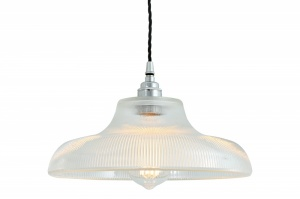 Mono Industrial Railway Pendant Light 30 cm