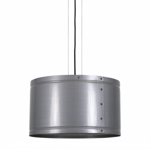 Benton Industrial Steel Drum Pendant Light