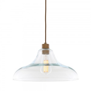 Clifton Clear Railway Pendant Light