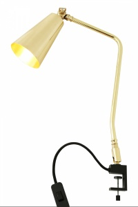 Georgetown Industrial Clamp Table Lamp