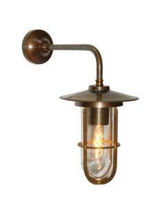 Lena Well Glass Wall Light IP65