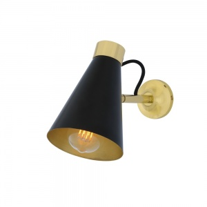 Preston Brass Wall Light