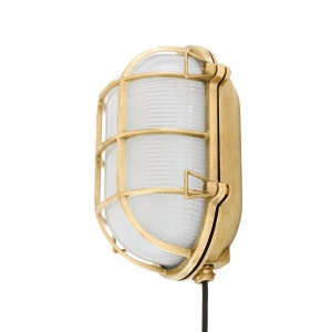 Ross Bulkhead Wall Light Emergency IP65