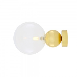 Helena Glass Ball Wall Light