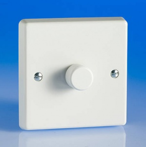 LED Dimmer Switch 120w - White - 1- 4 Gang