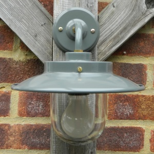 Slate Grey Burford Belfast Outdoor Wall Light