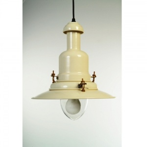 Extra Large Cream Fisherman's Ceiling Light