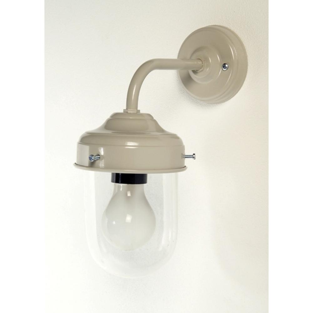 Barn Light With Pir Sensor: Putty Clay Barn Or Stable Wall Mounted Light