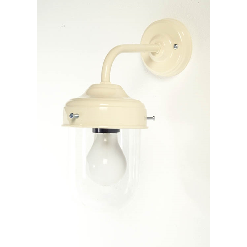 Cream Barn or Stable Wall Mounted Lamp