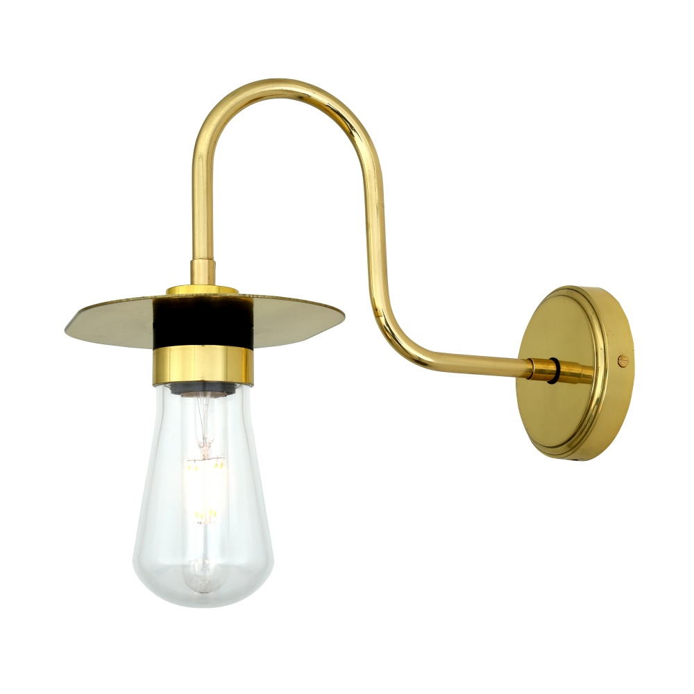 Kai Swan Neck Bathroom Wall Light IP65