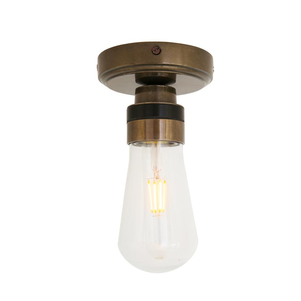 KURA Flush Bathroom Ceiling Light IP65
