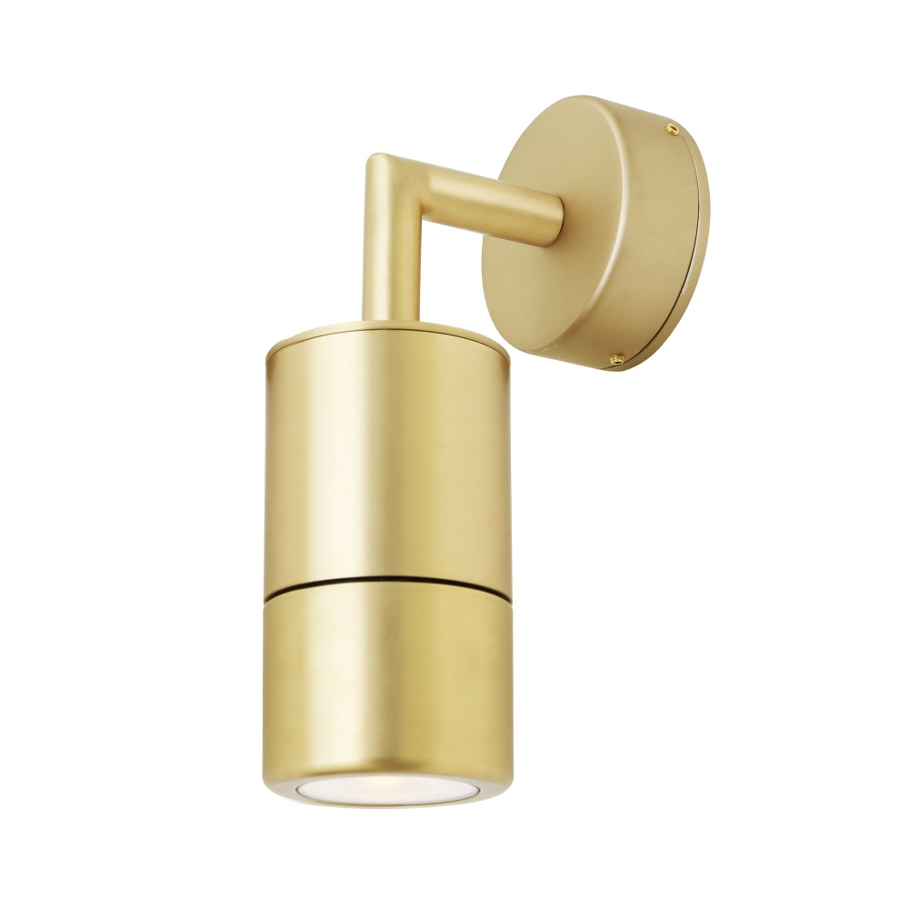 Ennis Brass Bathroom Wall Light IP65