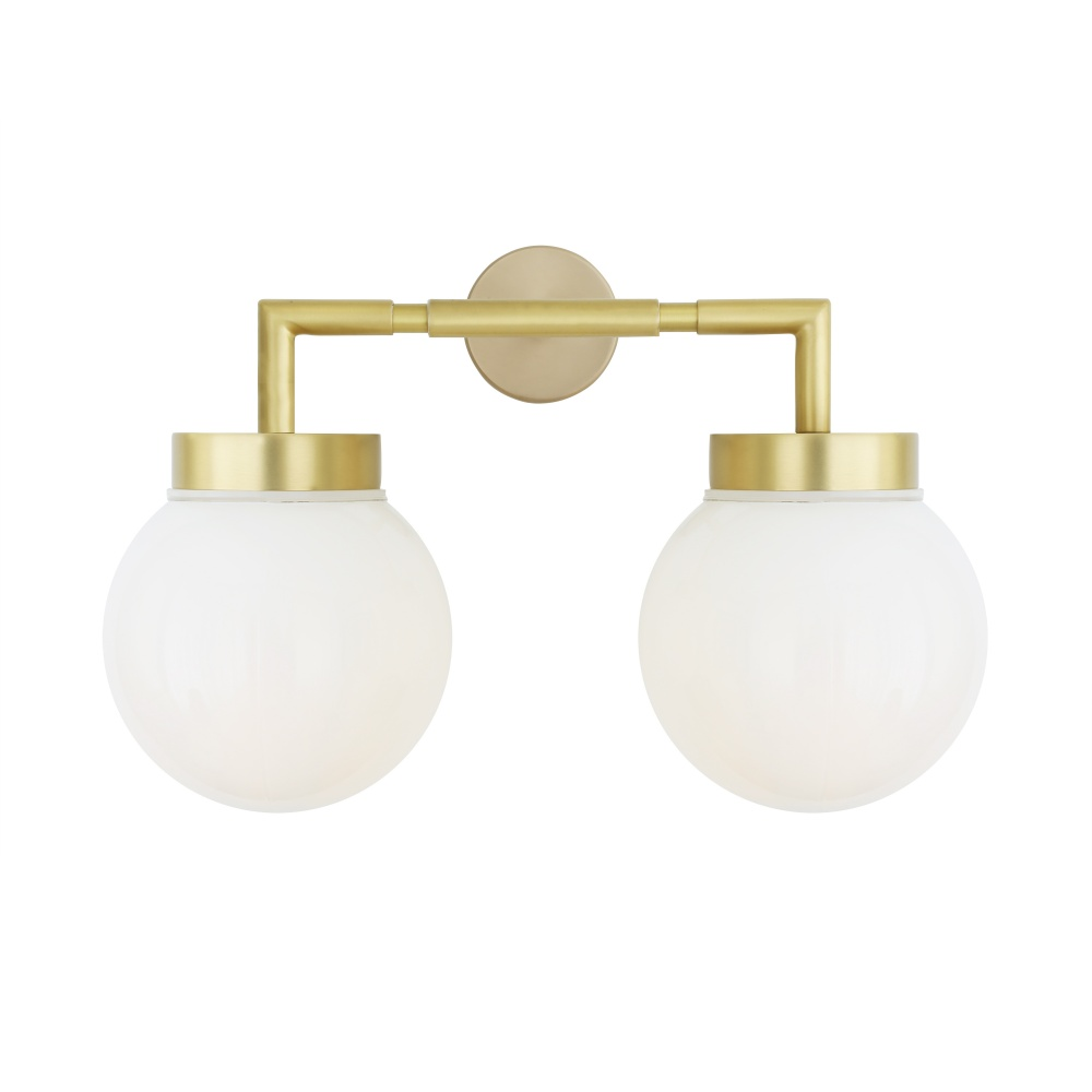 Jordan Double Bathroom Wall Light IP65