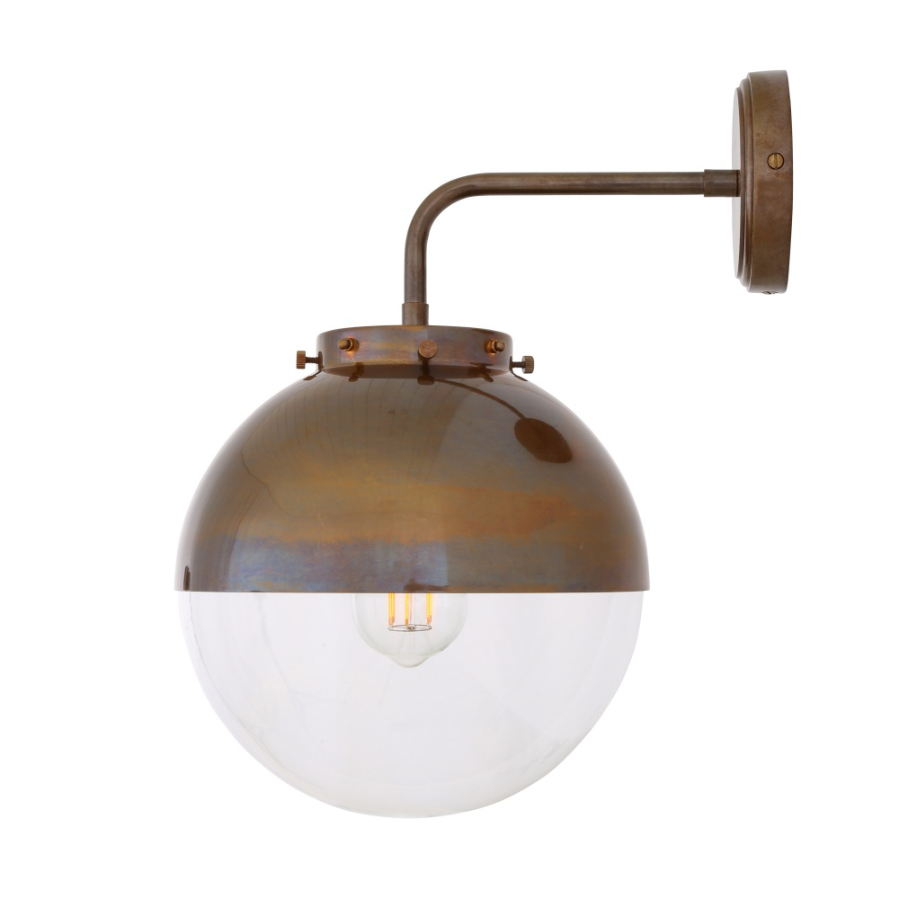 Stupendous Mica Glass Globe Bathroom Wall Light Ip44 Home Interior And Landscaping Fragforummapetitesourisinfo