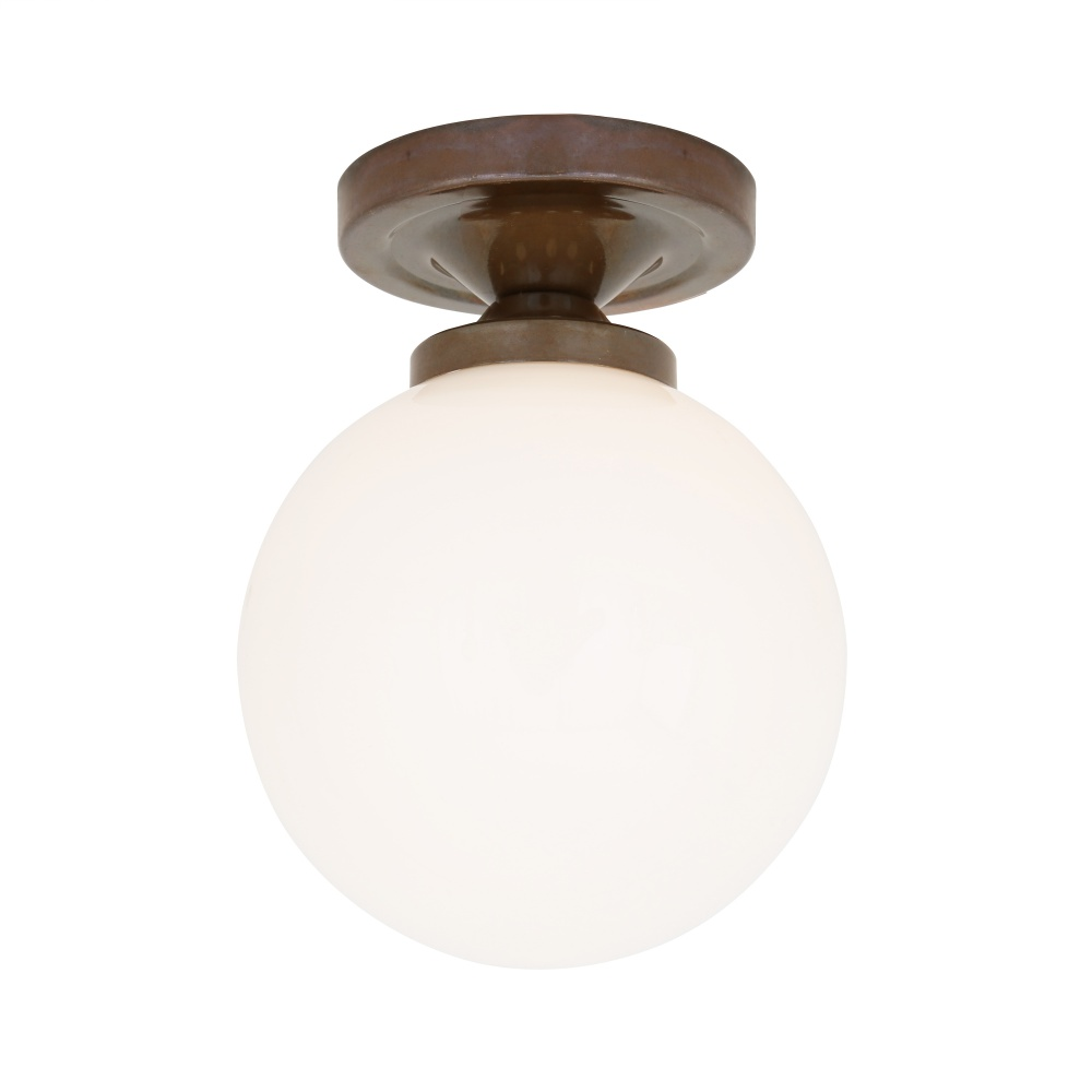 cheap for discount abe61 6f2f5 Yaounde Flush Globe Ceiling Light