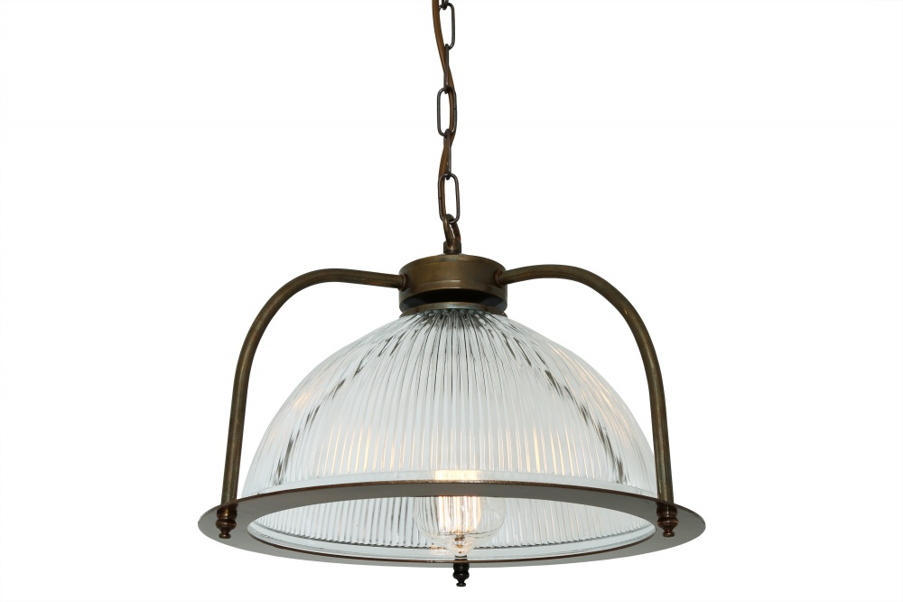 Bousta Holophane Pendant Light