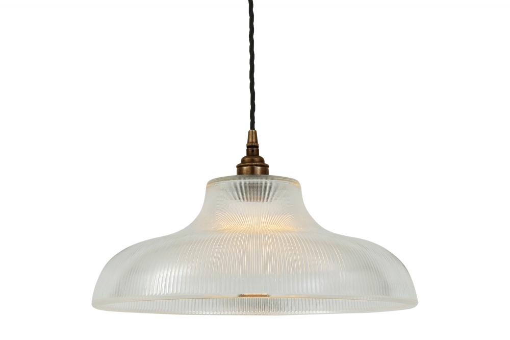 Mono Industrial Railway Pendant Light 40 cm