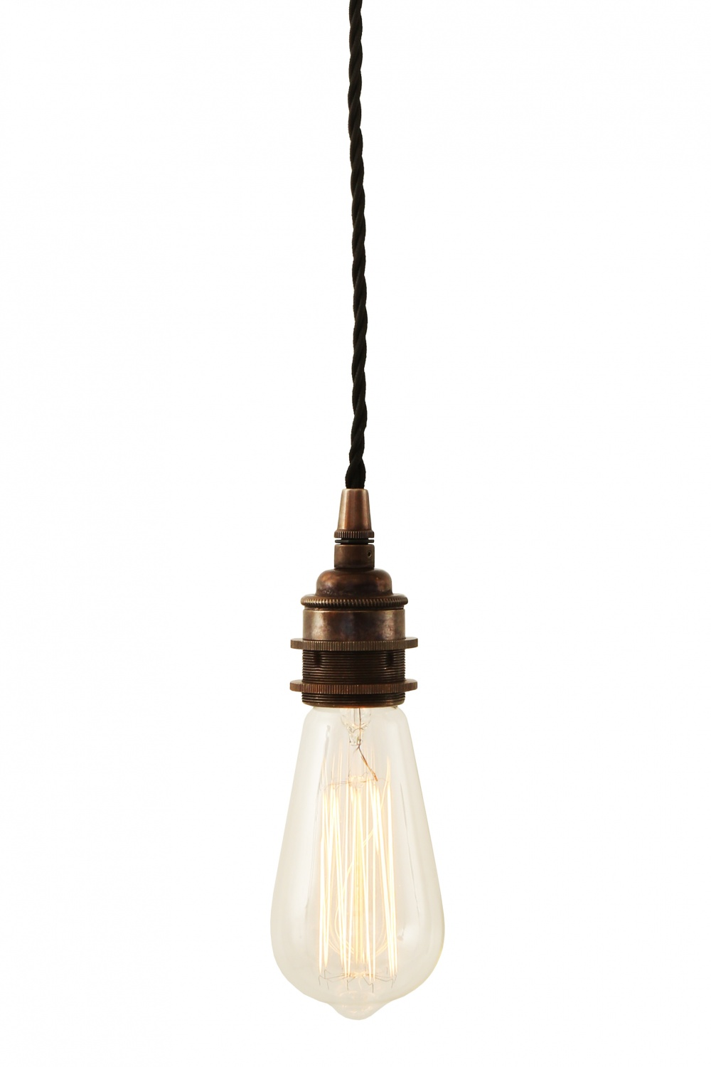 Lome Vintage Braided Pendant Light
