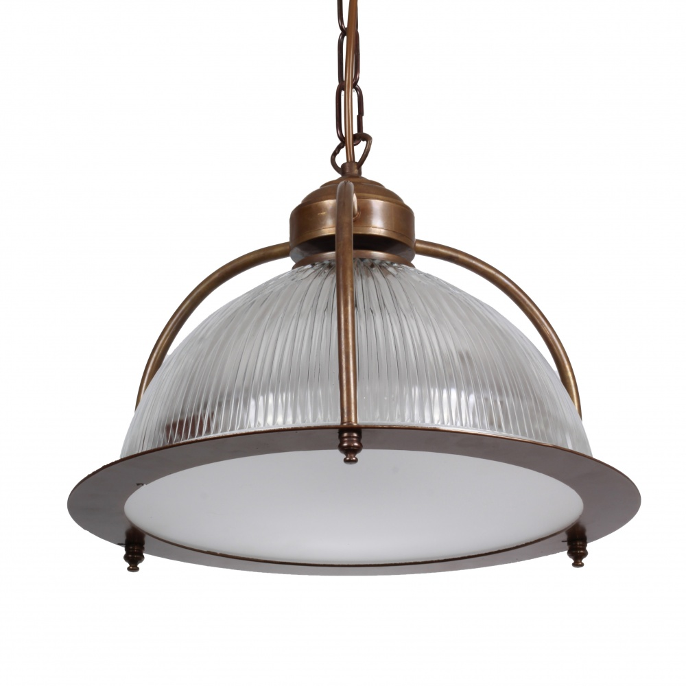 Bousta Holophane Pendant Light With Diffuser