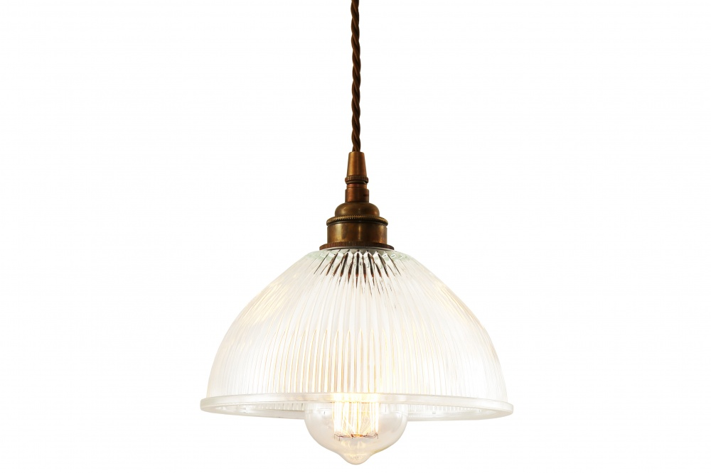 Boston Industrial Holophane Pendant