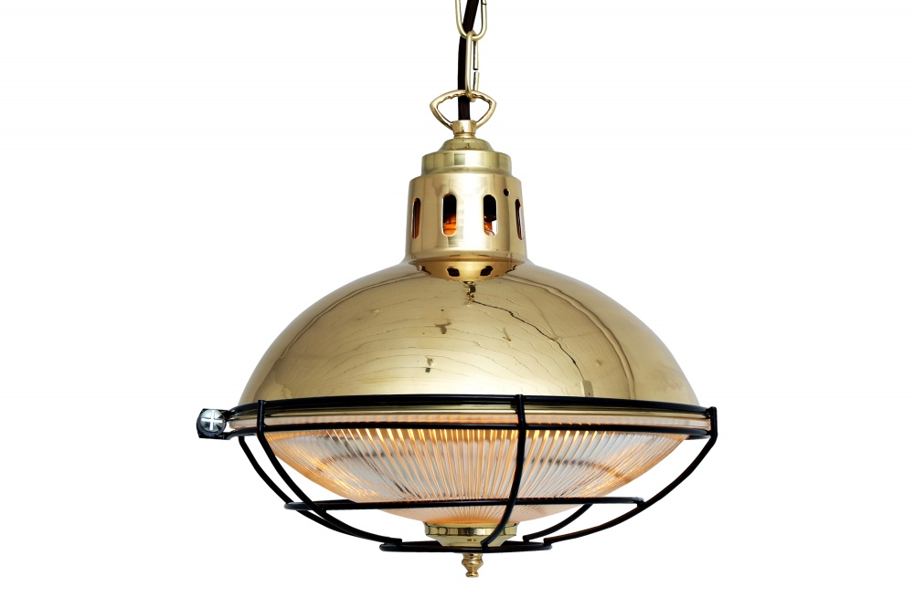 Marlow Cage Lamp Industrial Factory Light