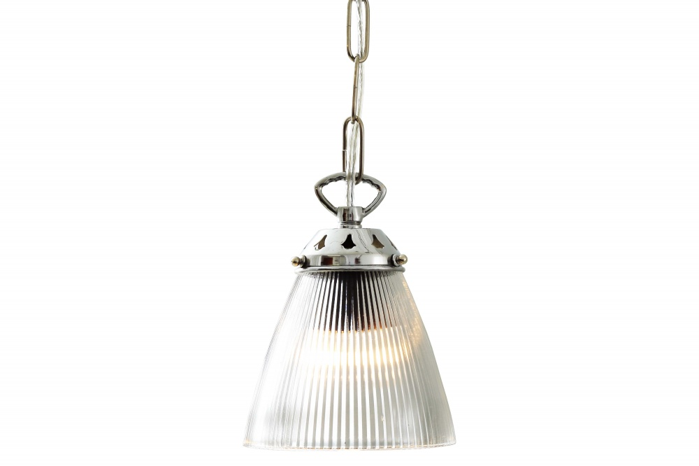 Gadar Mini Holophane Pendant Light