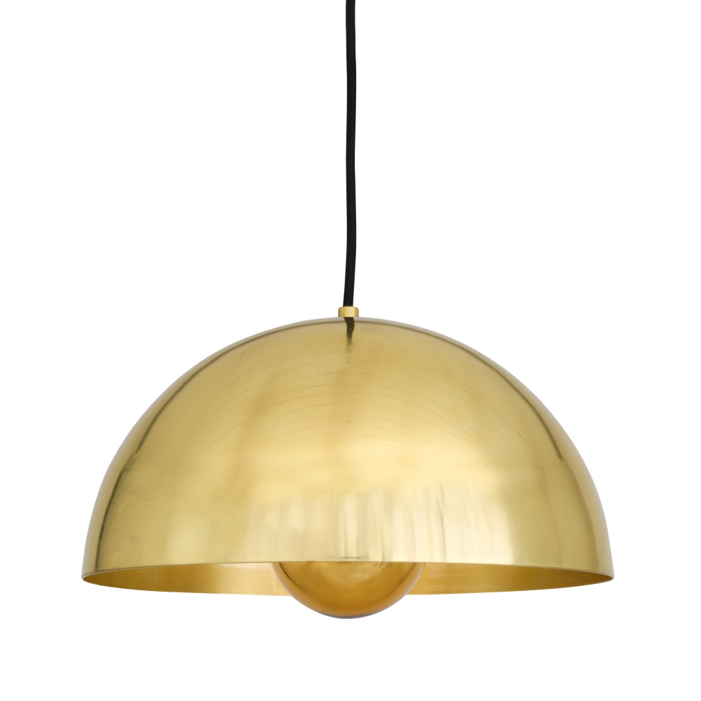 Maua Brass Industrial 30 cm Pendant Light