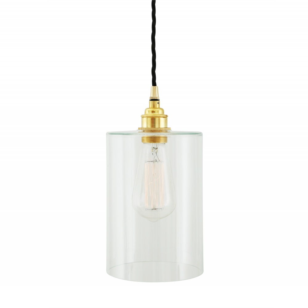 Dalat Pendant Light With Glass Lamp Shade