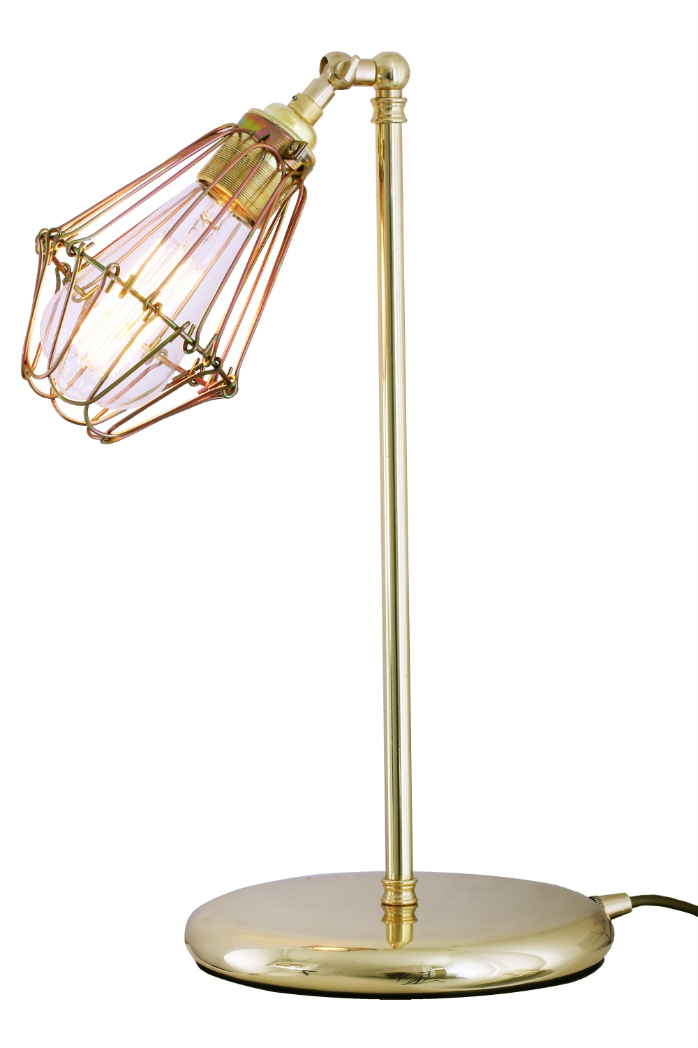 Praia Cage Industrial Table Lamp