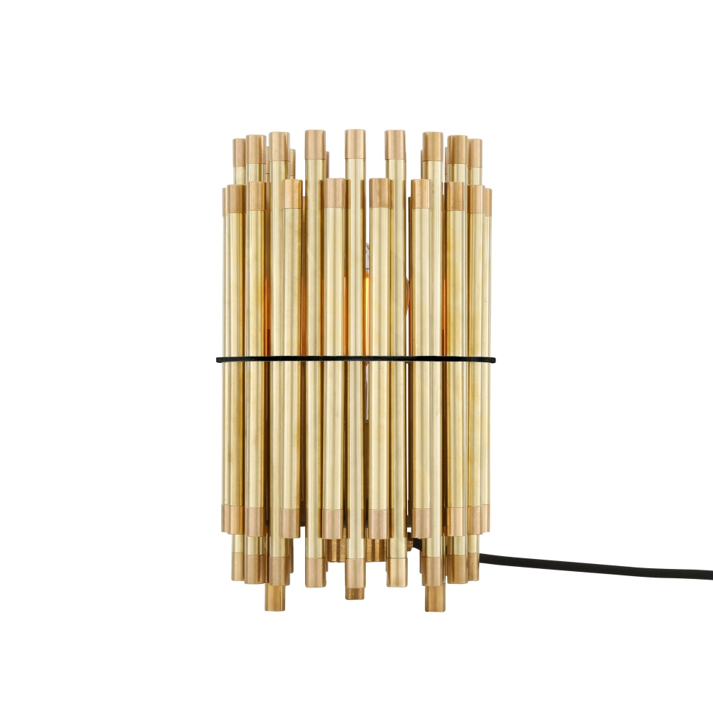 Oxford Modern Brass Table Lamp
