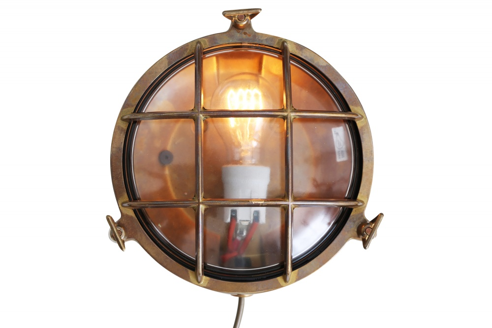 Evander Marine Bulkhead Wall Light IP54